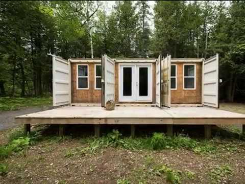 Shipping Container Home off Grid  - Off Grid World