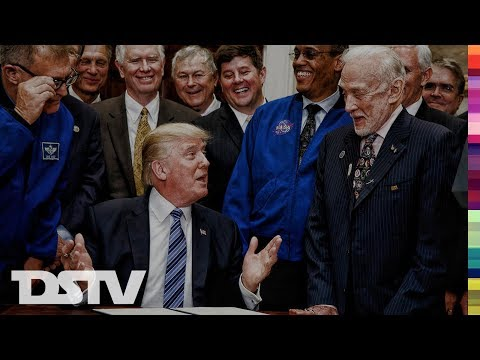 TRUMP: THE UNITED STATES TO RETURN TO THE MOON AND TO EXPLORE MARS