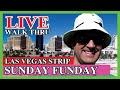 Sunday Funday Live on The Las Vegas Strip Baby!