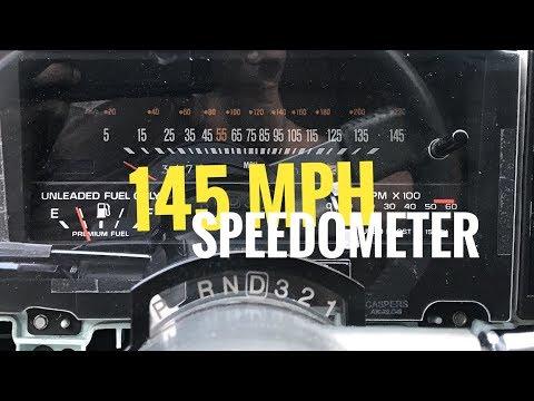 145 MPH Speedo Dash | Casper's Boost/Tach Repaired LED Module Install