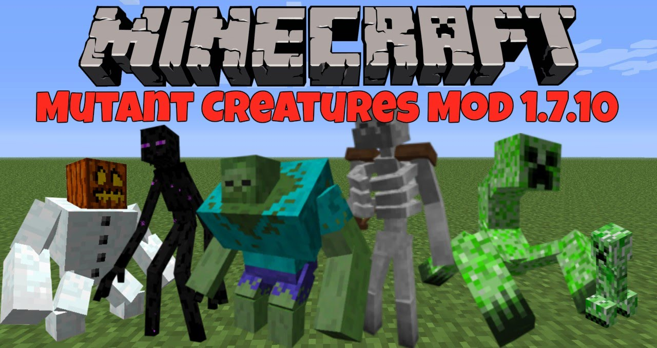 Minecraft: Mutant Creatures Mod 1.7.10 - YouTube