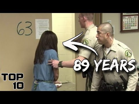 Top 10 Female Convicts Who Freaked Out After Given A Life Sentence