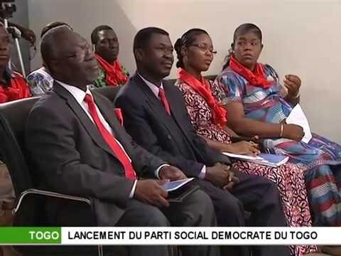 Laurent Lawson ouverture de la Conférence du lancement du Parti Social Démocrate du Togo DT