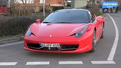 Ferrari 458 Italia (570hp) - DRIVE & SOUND (60FPS)