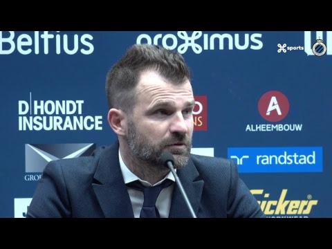 DE PERSCONFERENTIE NA CLUB BRUGGE - KRC GENK | 2018-2019
