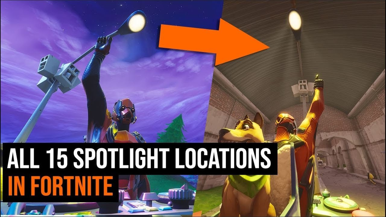 All 15 Spotlight Locations in Fortnite Season 6