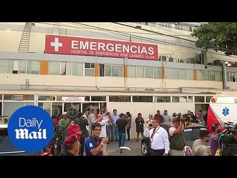 Peru's former president Garcia in hospital after suicide attempt