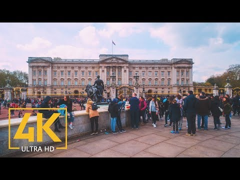 4K London, Great Britain - Documentary Film without Narration - Cities of the World