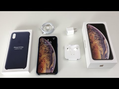 iPhone XS Max Unboxing: Gold! (iPhone 10s Max)