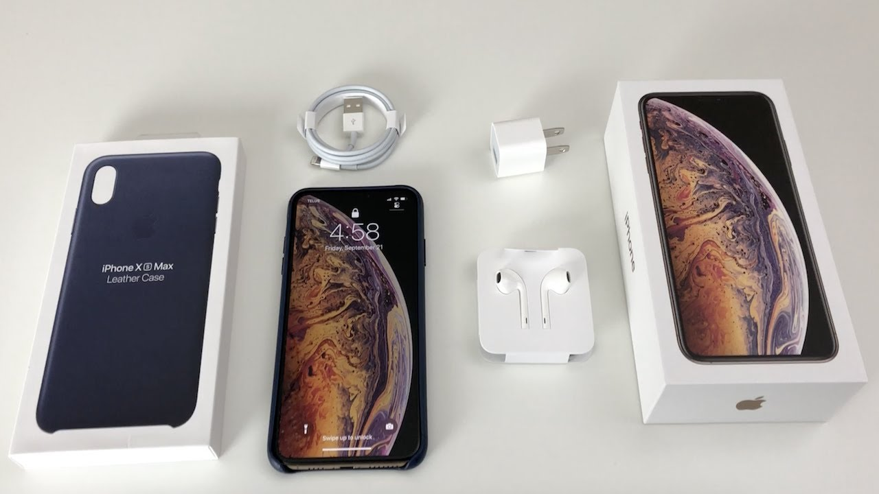 Iphone Xs Max Unboxing Gold 10s