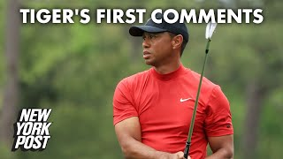 Tiger Woods makes first comments since horrifying crash | New York Post