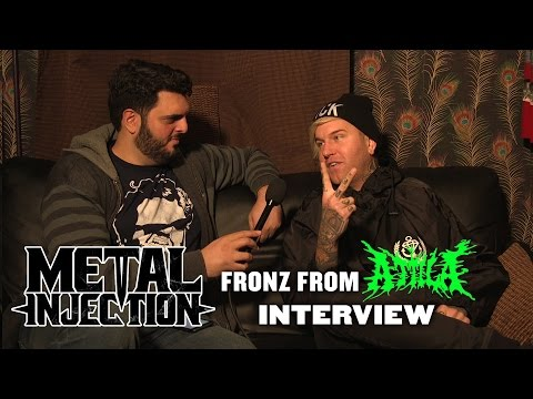 FRONZ From ATTILA - The Metal Injection Interview