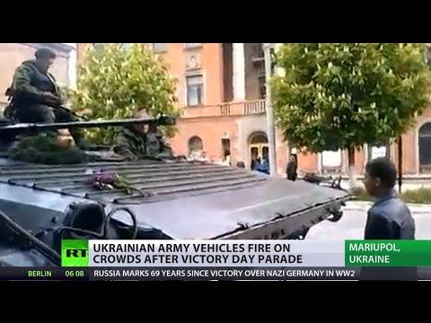 Kiev, Washington claim 'terrorists' killed in Mariupol, footage shows civilians