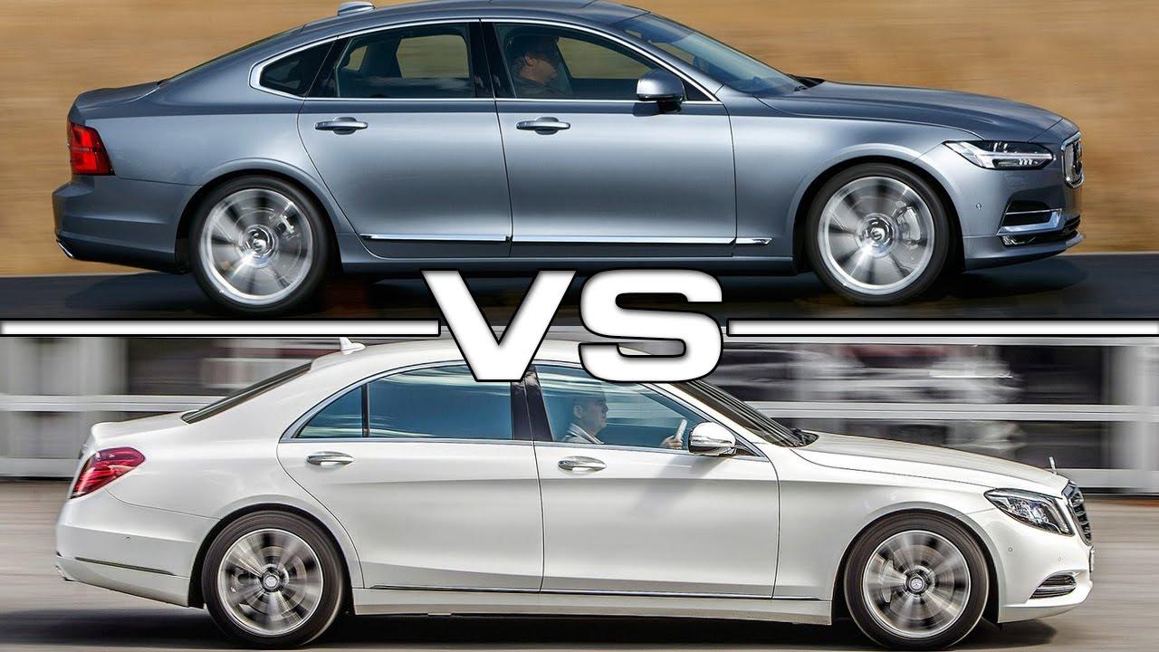 volvo s90 vs mercedes benz s-class - youtube