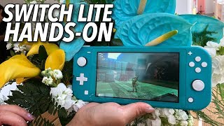 Nintendo Switch Lite - Hands-On