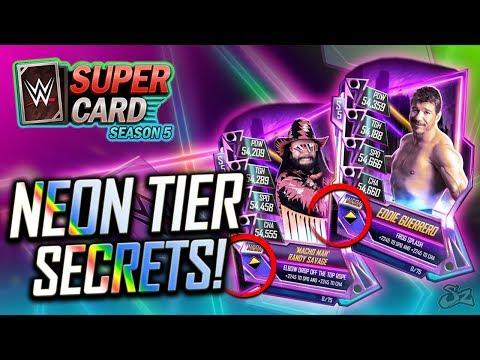 NEW Neon Tier Cards! Secret Superstar Reveals?! | WWE SuperCard