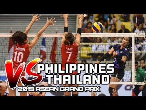 Philippines VS Thailand Volleyball Highlights | 2019 ASEAN GRAND PRIX - October 5, 2019