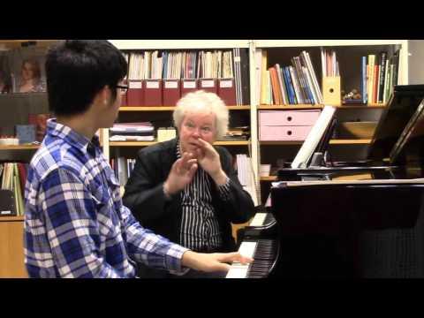 Israel Lai har Master Class med Hans Pålsson