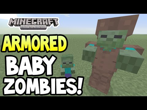 Minecraft (Xbox360/PS3) - TU19 UPDATE! - ARMORED, BABY ZOMBIES - GAMEPLAY!