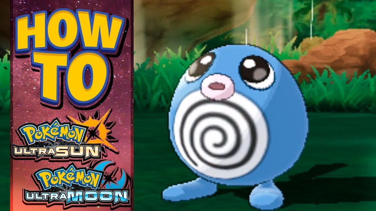7490e068 HOW TO GET Poliwag in Pokemon Ultra Sun and Moon - YouTube