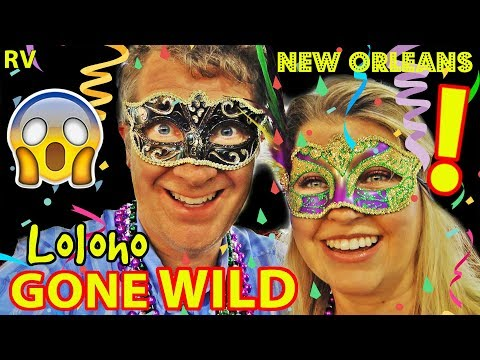 🎊🎉RV Camping in NEW ORLEANS (Mardi Gras & more!) 🎭