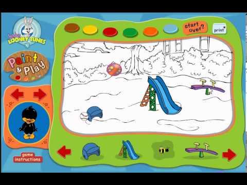 çocuk Parkı Yap Boya Oyunu Httpwwwmodernoyuncomcocuk Parki Yap