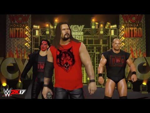WWE 2K17   WOLFPAC vs NWO   ** REAL OPENING SCENE **