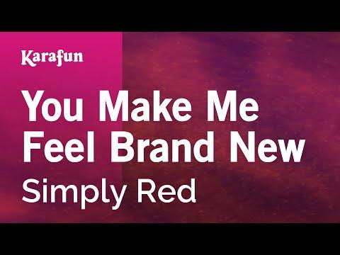 Karaoke You Make Me Feel Brand New - Simply Red *