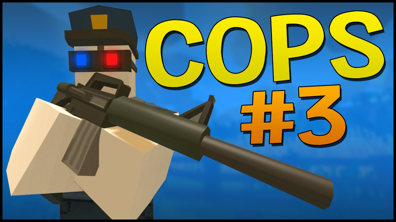 Unturned 3 0 PvP Gameplay - UNDERCOVER COPS! (PvP Server