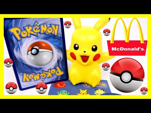 🍔🍟2018 POKEMON MCDONALDS HAPPY MEAL TOYS PIKACHU🍟🍔