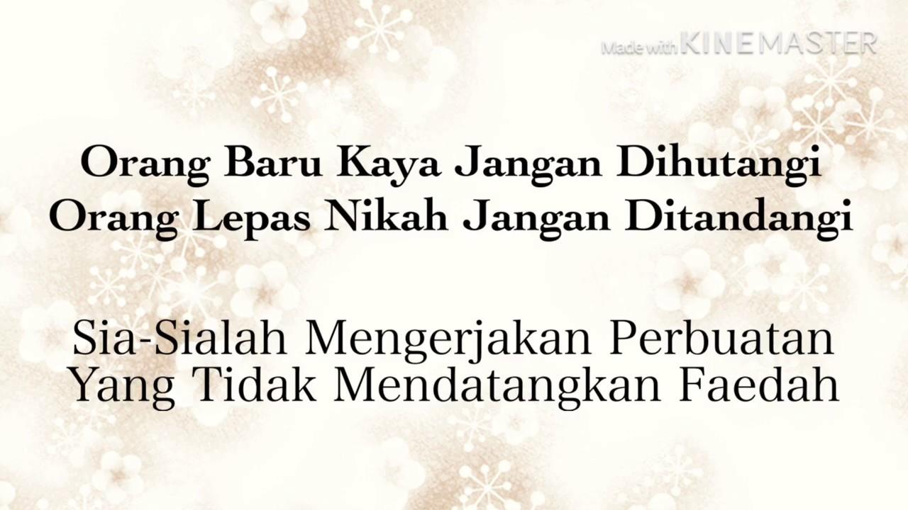 Peribahasa Melayu Lama 1 Youtube