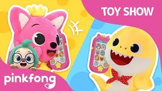 Pinkfong Baby Shark Pop-Up Smartphone | Pinkfong Toy Show | Pinkfong Toys for Children