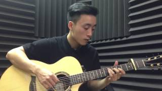 Chúc Bé Ngủ Ngon guitar  Finger style by Thang Nguyen
