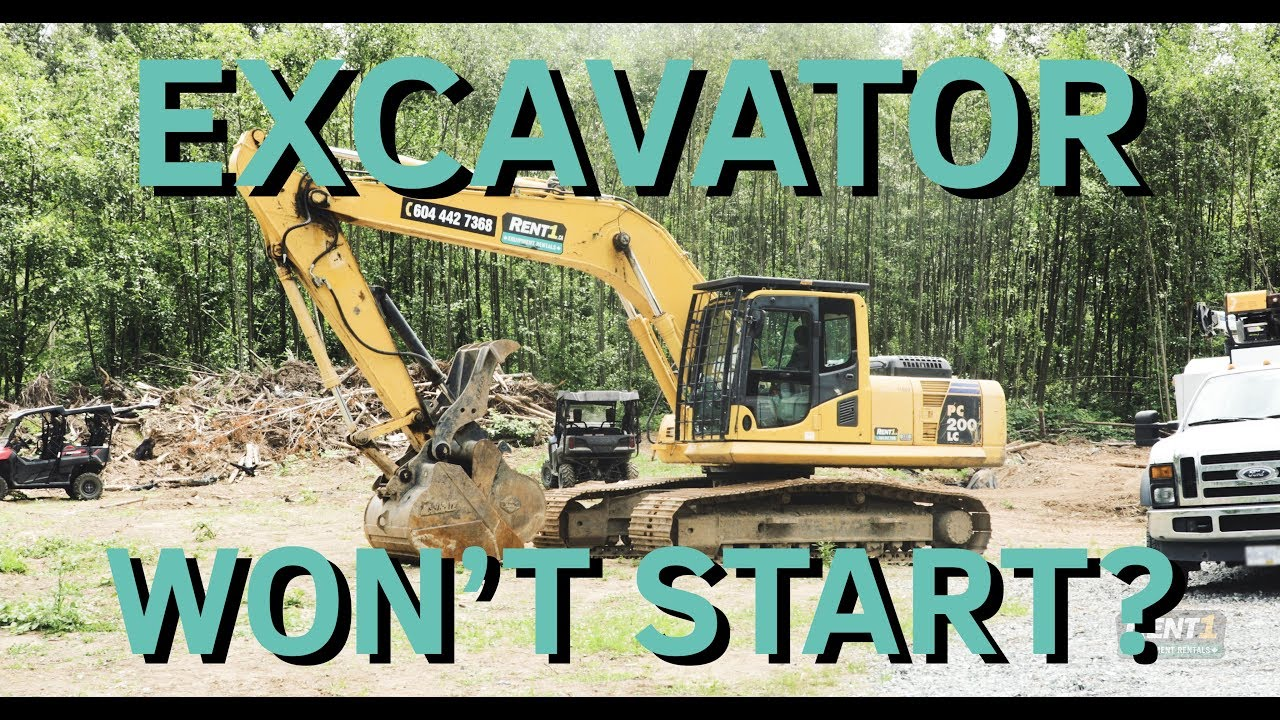 Excavator Won't Start??? - Diagnosing & Repairing a Komatsu PC200LC [4K]