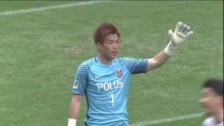 2017年4月22日(土)に行われた明治安田生命J1リーグ 第8節 浦和vs札...
