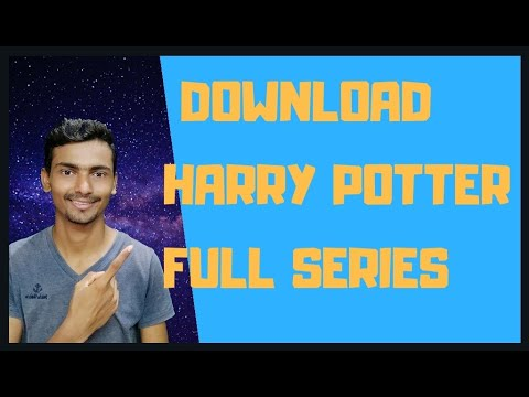 Download download Harry Potter series, How to download hollywood series Harry Potter in hindi+eng audi