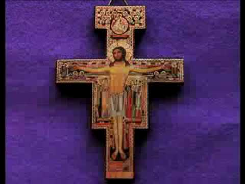 San Damiano Crucifix St Francis Of Assisi Youtube
