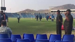 Team India at MCA stadium pune