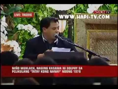 MISA PARA KAY DOLPHY- Niño Muhlach