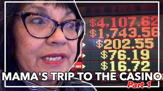 MAMA PLAYS $400 IN CASINO FREE PLAY PART 1 OF 4 @ Graton Casino | NorCal Slot Guy