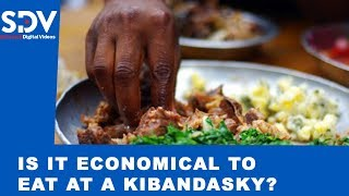 Is it really economical for you to eat from a \
