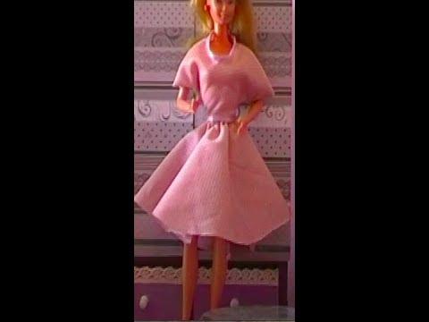 Vestiti Barbie Tutorial Youtube