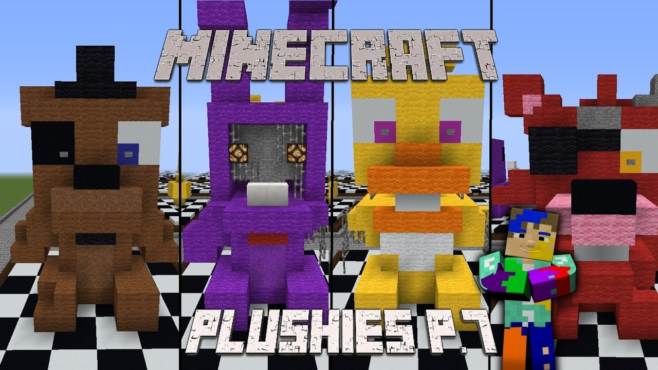 Minecraft FNaF Plushies part 7 II Speed Build  YouTube