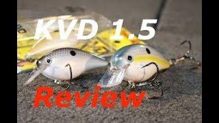 Strike King KVD Squarebill Crankbait Review (Tackle Review Tuesday)