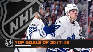 Top Goals of the 2017-18 season