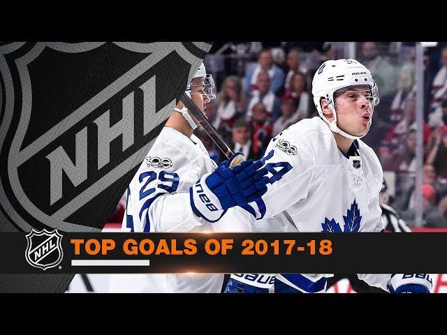 Top Goals of the 2017-18 season