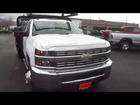 Chevrolet Silverado 3500hd Seattle >> 2015 Chevrolet Silverado 3500HD Regular Cab Chassis WT 4WD - Enumclaw Seattle, WA 18149a - YouTube