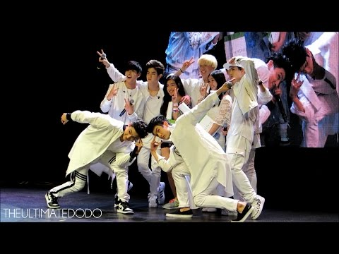 [FANCAM] 150508 Musical Chairs + Photo with Winners @ GOT7 Fan Meeting in Chicago