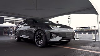 Byton Concept EV first ride