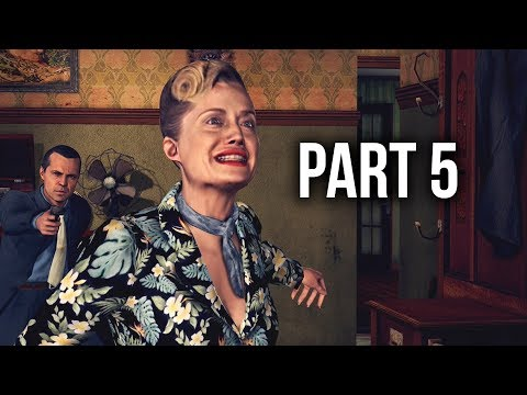 LA Noire Remastered Gameplay Walkthrough Part 5 - MARRIAGE MADE IN HEAVEN (Xbox One X)